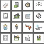 Home Maintenance Icon collection