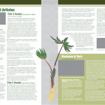The Plant Producer Newsletter Template Spread 2
