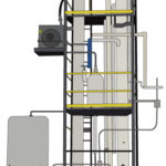Distillation Process Illustration