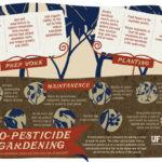 No Pesticide Gardening Infographic