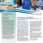 SeaGrant two-page newsletter template Back