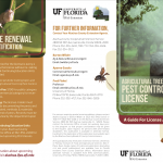 Pesticide certification brochure set