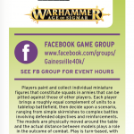 Gamesville TableTop rack cards